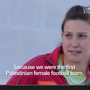 Palestian Female Soccer
